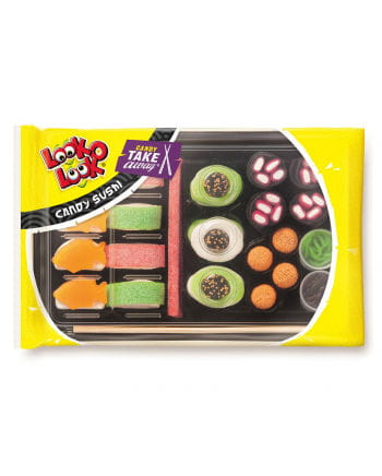 Candy Sushi with fruit jelly