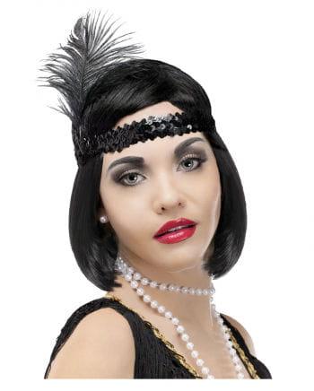 Charleston Headband Black