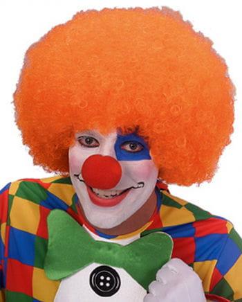 Clown Perücke Orange