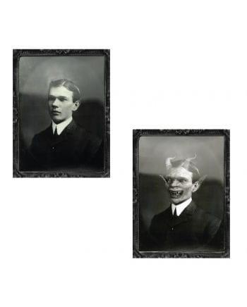 Hologramm Portrait Dämon 35x48cm