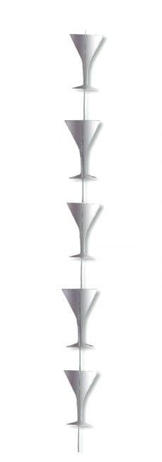 Decorative hanger champagne glass