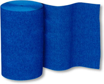 Decoration Crepe-Ribbon Blue