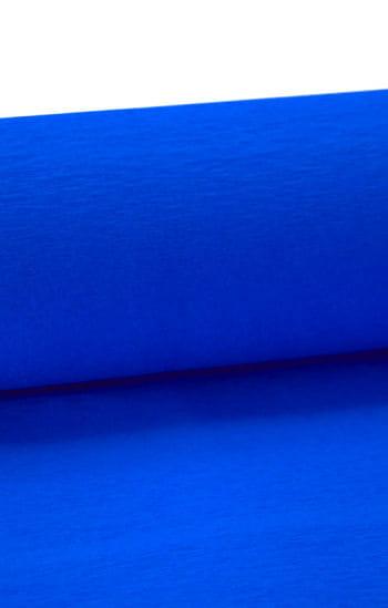 Niflamo decorative crepe blue 10 m