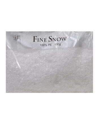 Decorative artificial snow finely 100g