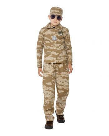 Desert Army Children's Costume