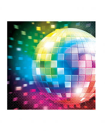 Disco Fever Servietten 16 St.