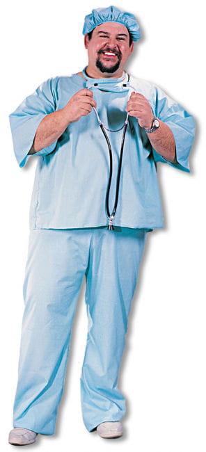 Doktor Doktor Kostüm Plus Size