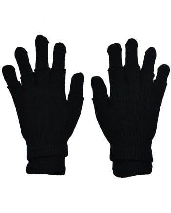 Doppel Handschuh schwarz