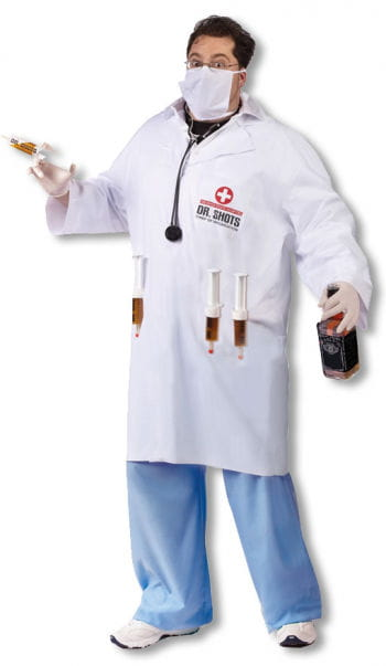 Dr. Shots Doctor Costume Plus Size