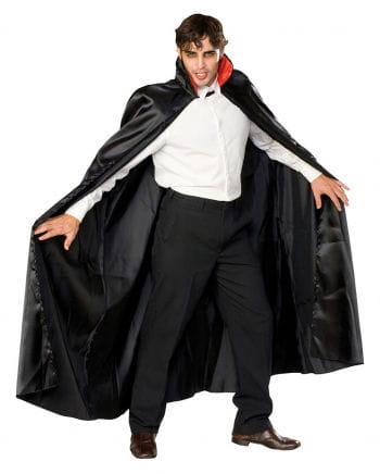 Dracula Cape Satin schwarz