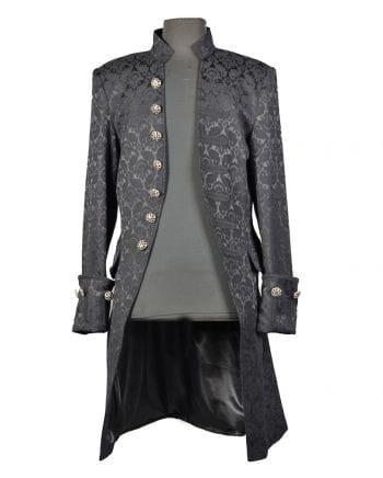 Gothic Brocade jacket for men black