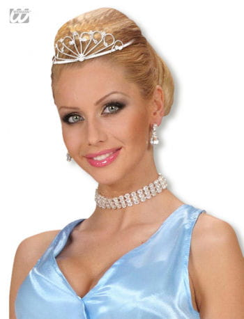Elegant rhinestone tiara Anne