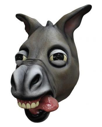 Verrückter Esel Latex-Maske