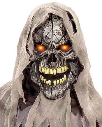 Skull Glowing Eye Maske