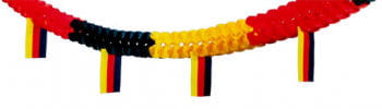 Flag Garland Germany 4 m