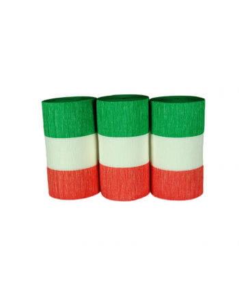 Flaggen-Krepp Italien 3er Set