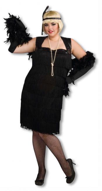 Charleston Flapper Kostüm XLarge