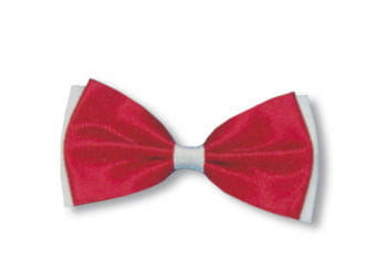 Bow Tie Red / White