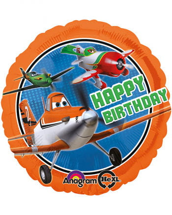 Foil balloon PLANES Disney Happy Birthday