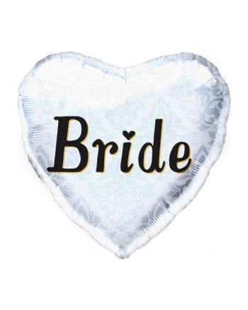 Foil balloon Bride