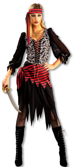 Cheeky Pirate Bride Costume M
