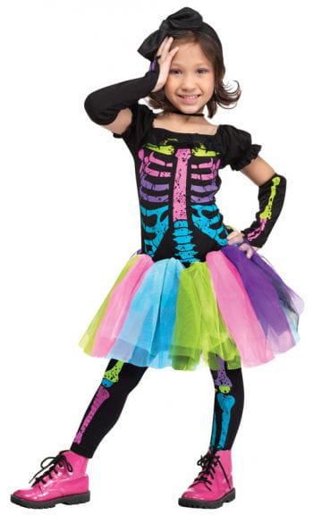 Funky Punk Skeleton Child Costume