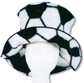Fussballhut mit Krempe