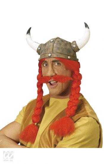 Gallic helmet with braids and Bart