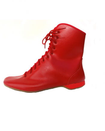 Guard boots red