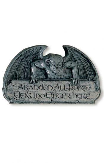 Gargoyle Door Sign