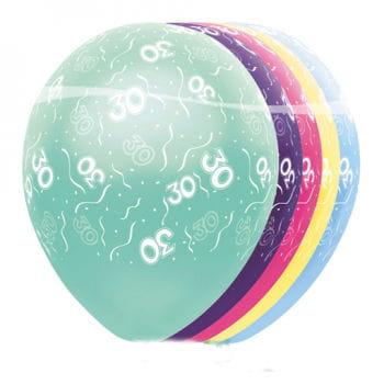 Geburtstag Ballons 30