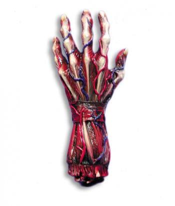 skinned hand left