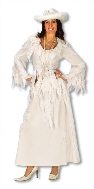 Geisterfrau Kleid weiß Gr. S/M