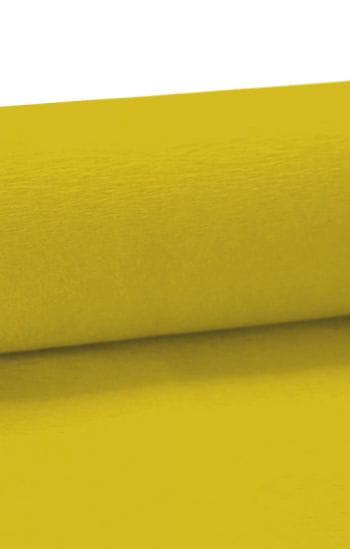Niflamo decorative crepe yellow 50 m