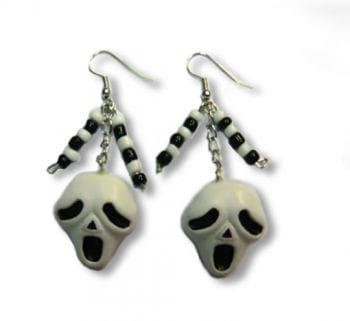 Ghostface Earrings