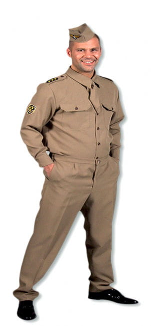 GI Costume 40s XL