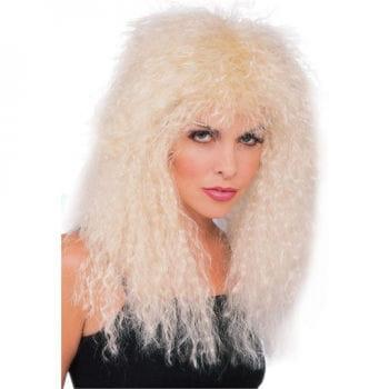 Glam Rock Wig-Blonde