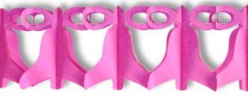 Glocken Girlande Pink