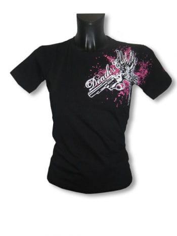 Flying Gun Girlie Shirt