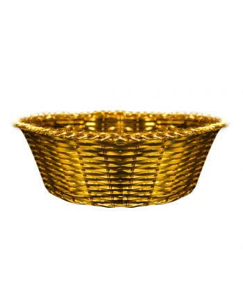 Gold Metal Baskets