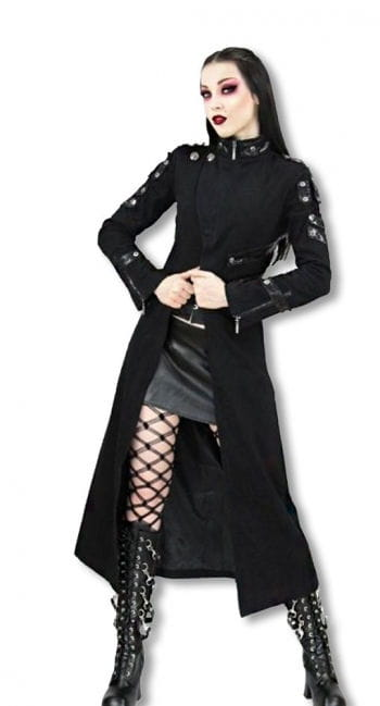 Damenmantel schwarz XL XL / 42