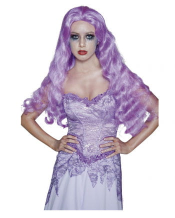 Gothic Bride Wig Purple