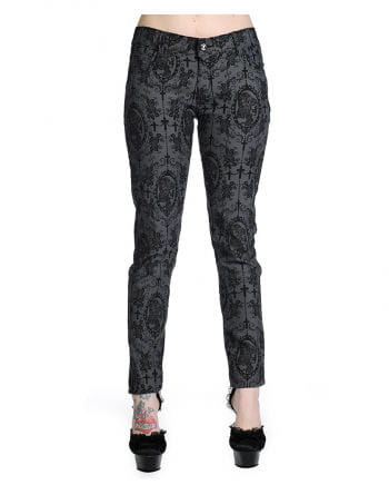 Gothic Jeans anthrazit