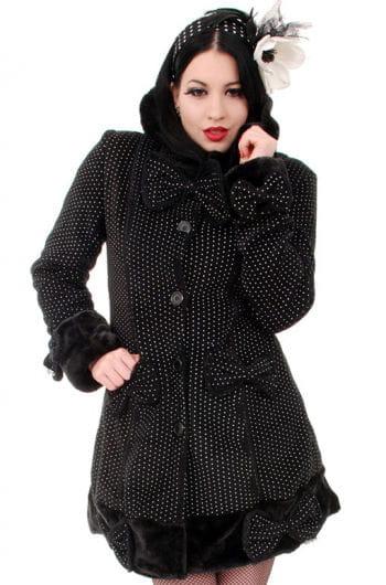 Gothic Coat Mace with Hood