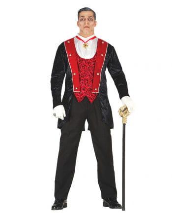 Gothic Vampire Count Costume