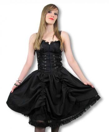 Gothic Kleid mit Corsagentop Large