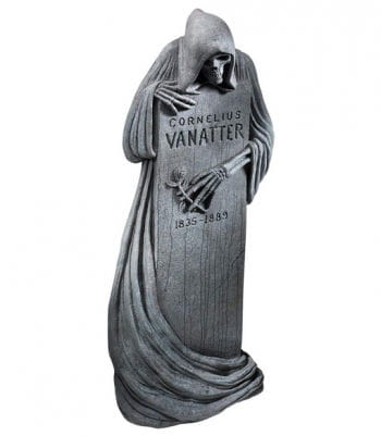 Halloween Grabstein Grim Reaper 117 x 45 cm