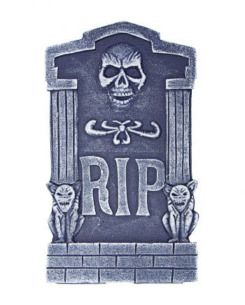 Grave stone RIP with Skull