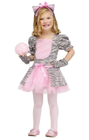 Gray kitten toddler costume