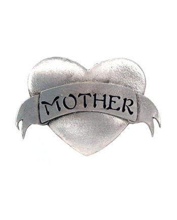 Buckle Heart - Mother - silver